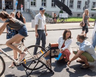 Recycling Fahrrad